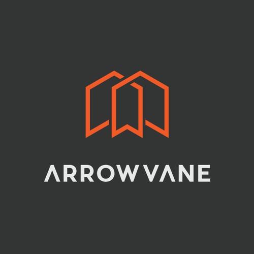 Arrow Vane logo design concept