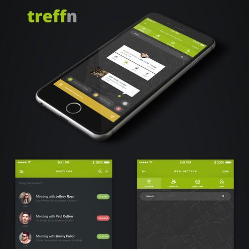 Treffn App - Concept Design