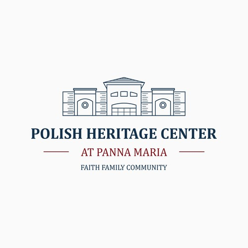 Polish Heritage Center at Panna Maria logo concept