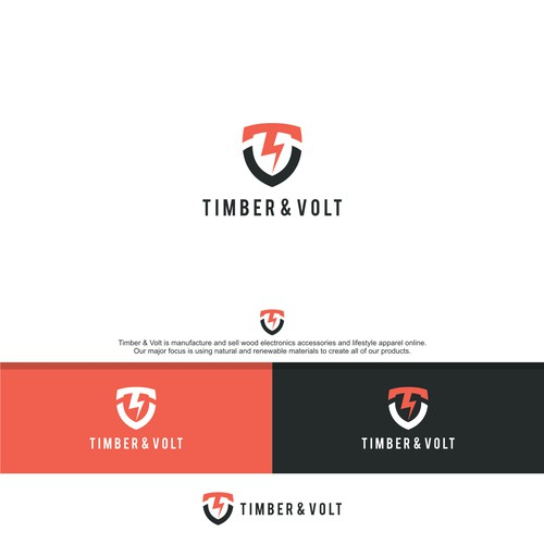 TIMBER & VOLT LOGO ORIGINAL