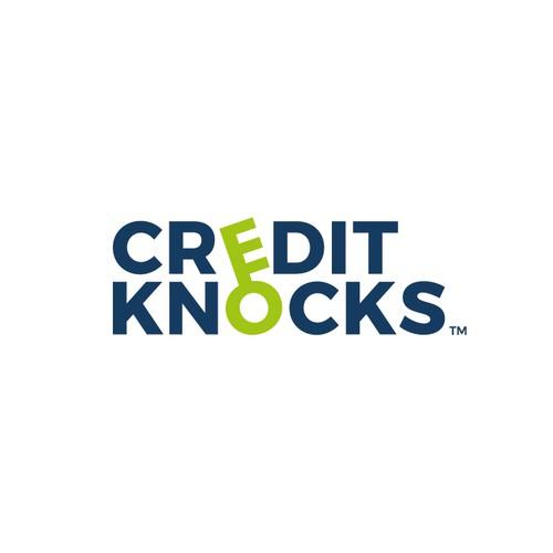 Logo concept for CREDIT KNOCKS