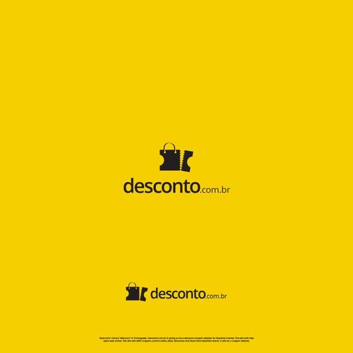 desconto.com.br Logo design