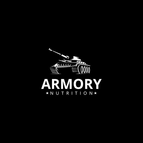 Create a classy logo for Armory Nutrition