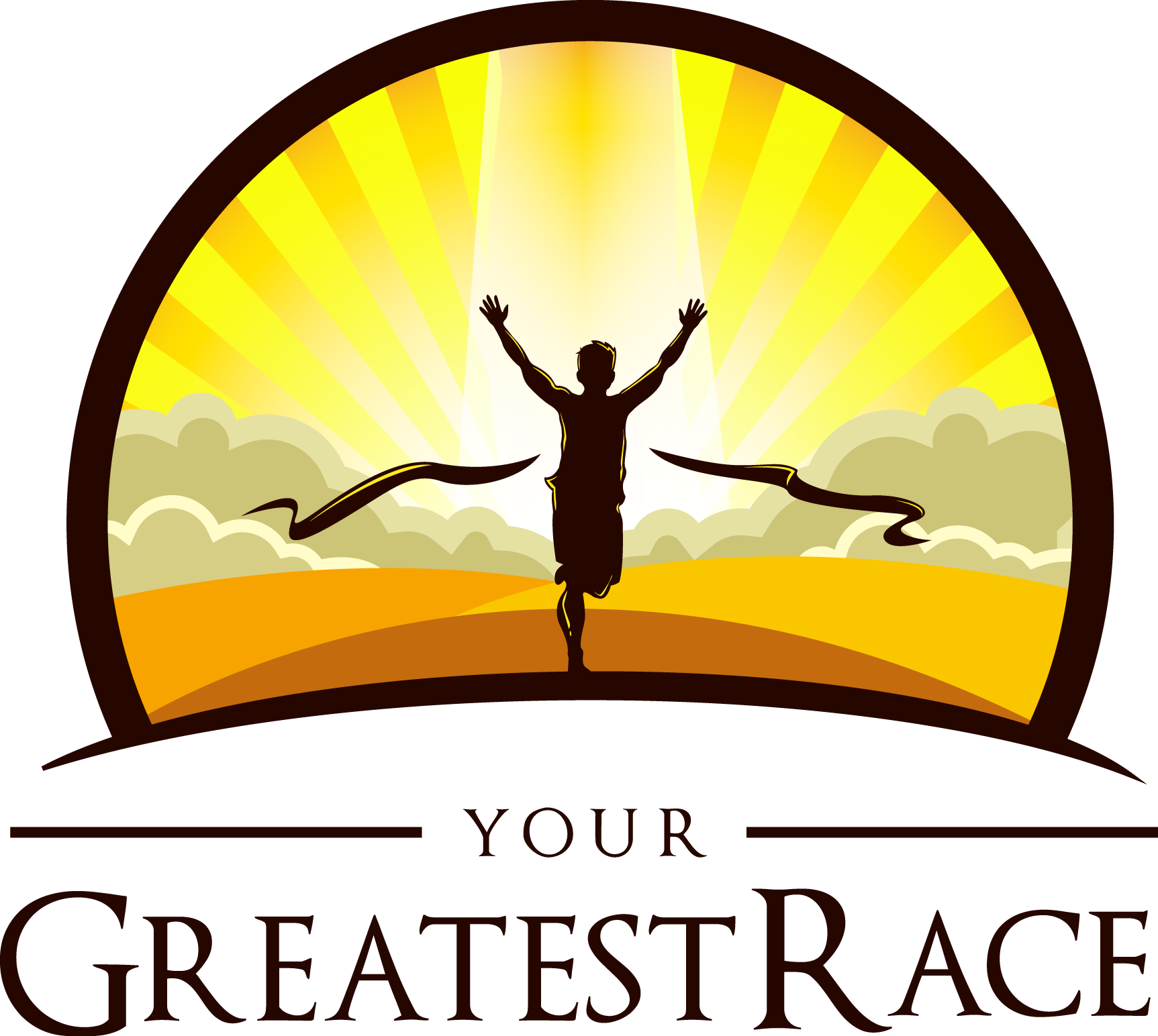 Your Greatest Race logo design