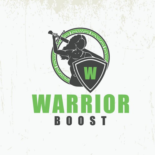 warrior boost logo