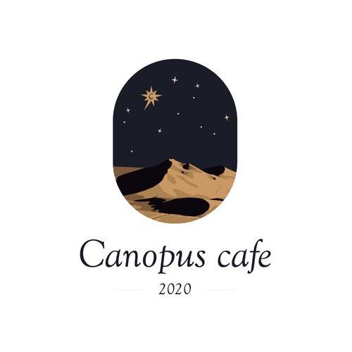 creative logo for a café