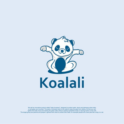 Baby Safety Pads need a Koala bear logo!
