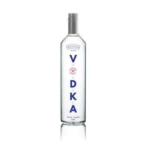 Vodka challenge - Packaging design