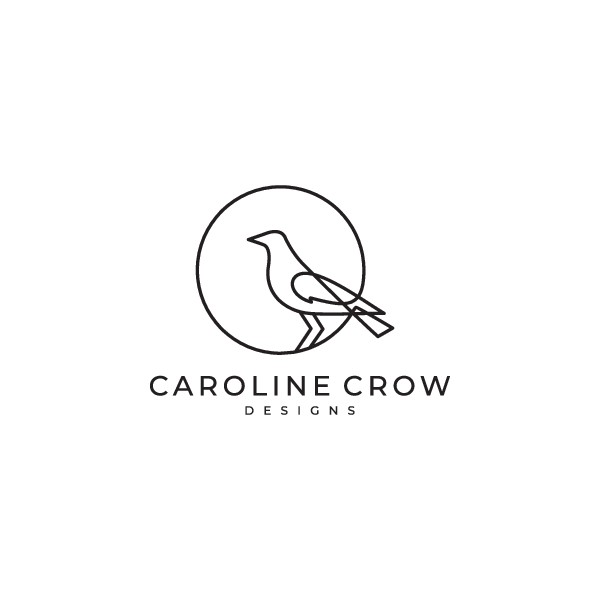 logo help pls! crow sketch needed to launch a simple and cool jewelry brand