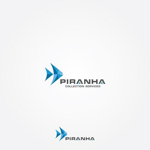 Piranha Logo Design