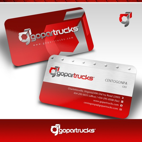 Ayudar a Gopartrucks con un nuevo/a logo