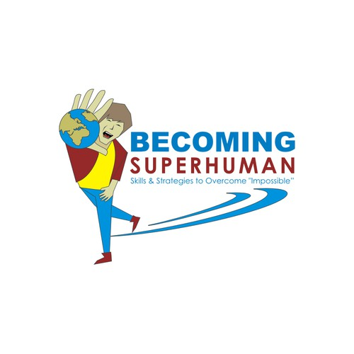 Create a brand identity for a blog and podcast about Becoming SuperHuman