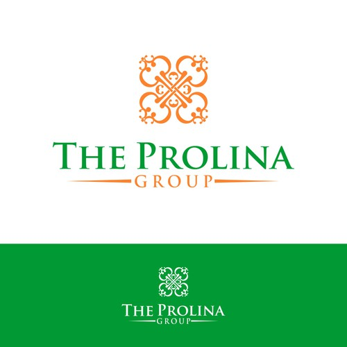 Elegant logo concept for The Prolina Group