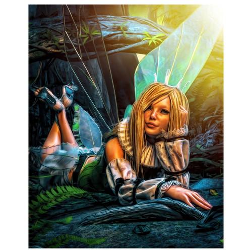Fantasy art for short stories