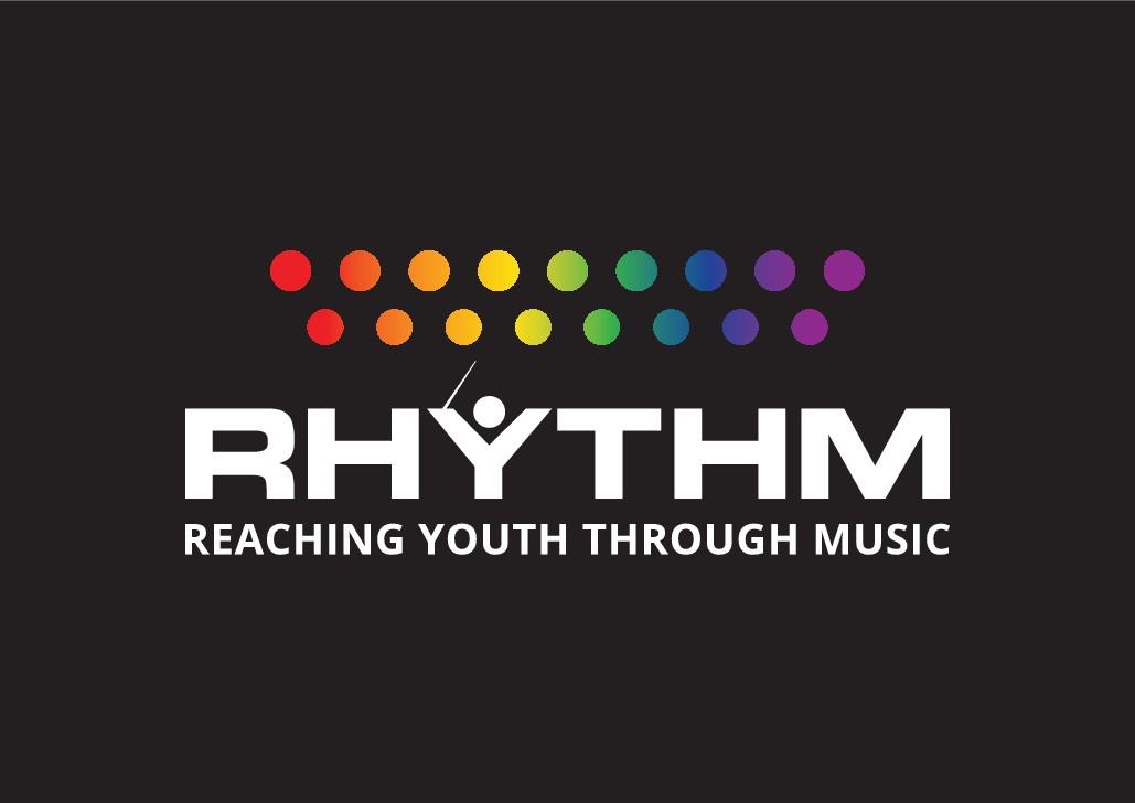 RHYTHM - Reaching Youth Through Music Logo