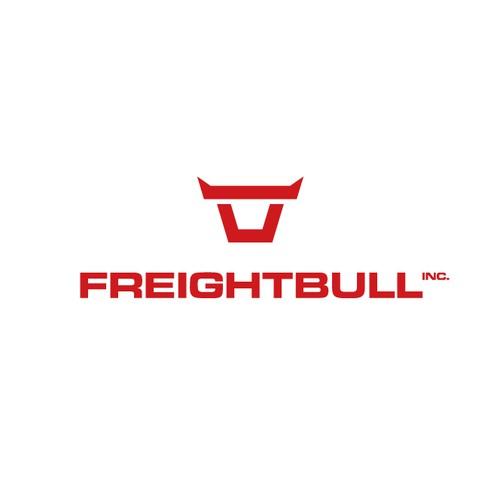 Freightbull logo design