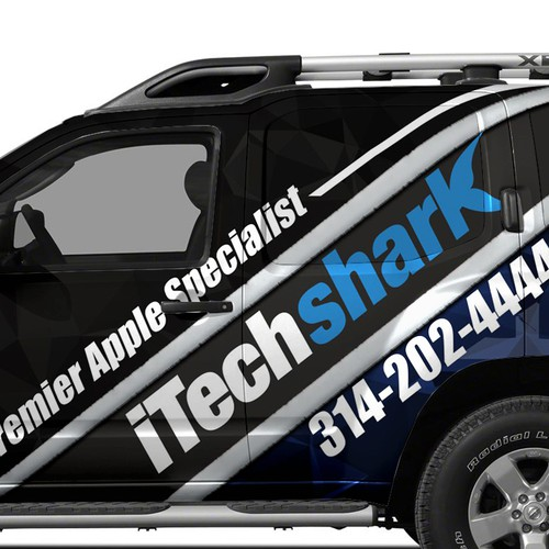 iTechshark car wrap