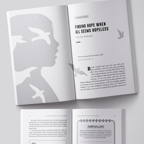 Book interior layout