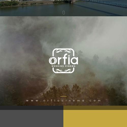 """::徽标设计""""ORFIA婚礼电影"""""""