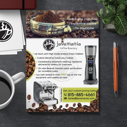 Custom Coffee Sales & Service Sales Sheet