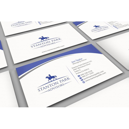 Investment banking firm needs professional business card design