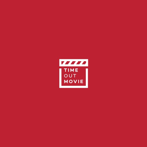 Bold logo for Time Out Movie