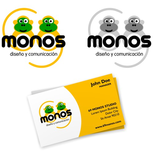 69 monos in need of a logo !!