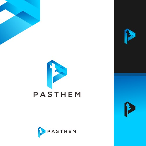 PasThem logo design