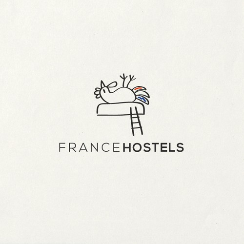 logo for french hostel operator