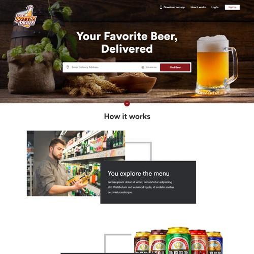 Beer Delivery Website