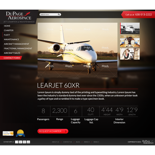 Website Design for Private Jet Charter Company - Needed ASAP