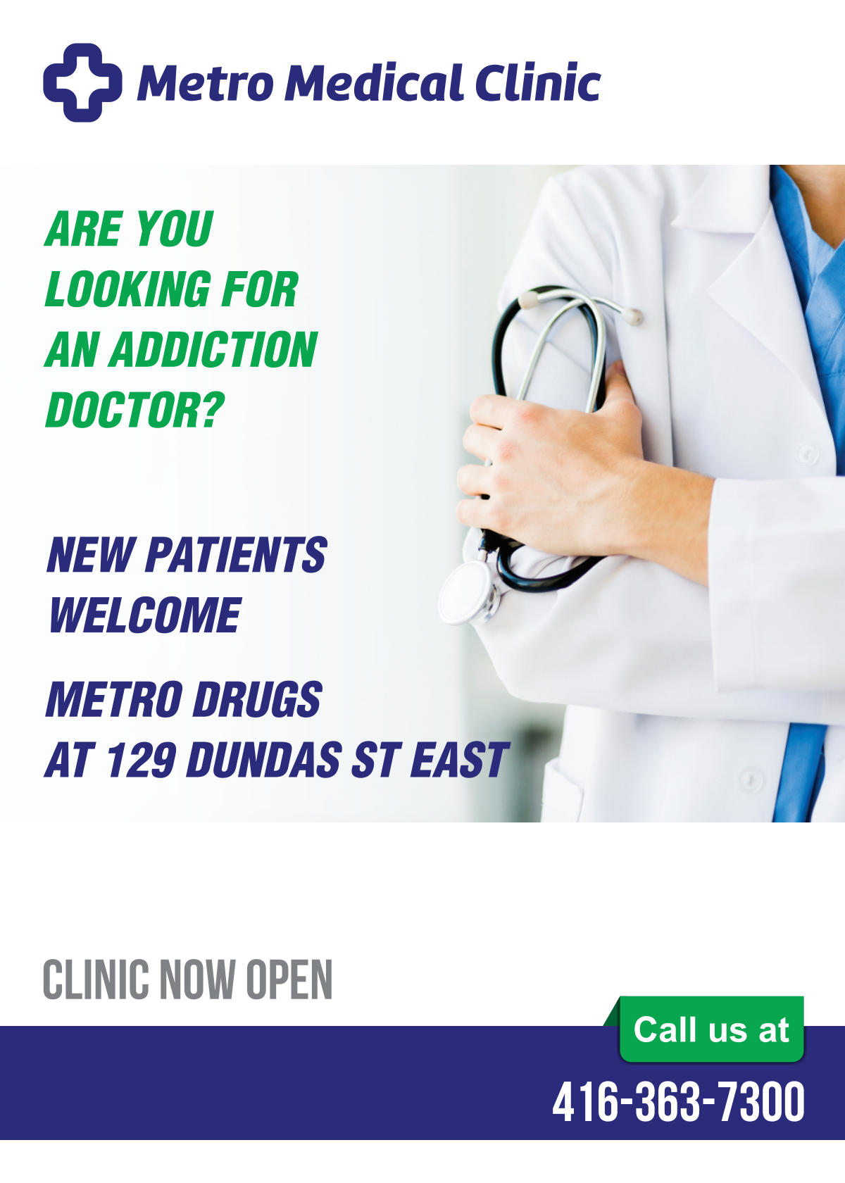 Looking for an Addiction Doctor