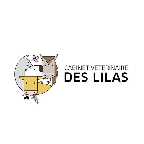 Logo attractif et original pour des vétérinaires d'animaux de compagnie et d'élevage.
