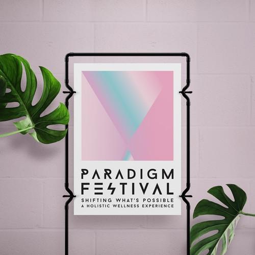 PARADIGM FESTIVAL POSTER DESIGN
