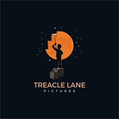 Negative Space logo for a Fantasy Film production company.