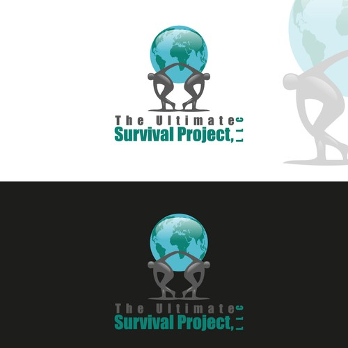 """Global Co.logo For """"Survival / Emergency Prepardness"""" EMPHASIS on HOPE, UNITY, THE GLOBE and WE ARE ALL ONE."""