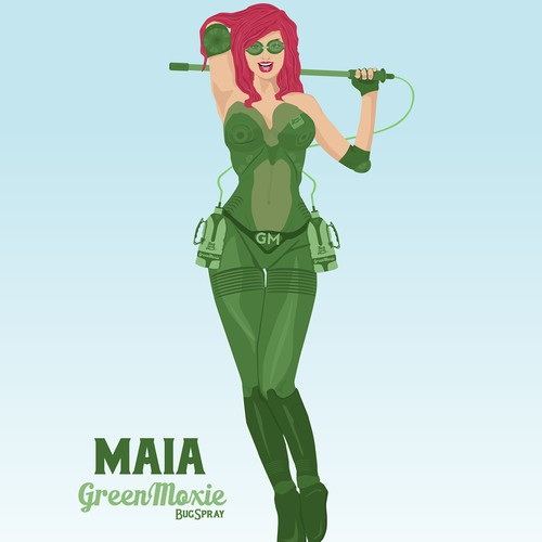 Character design for Green Moxie