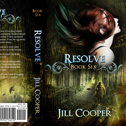 Designa YA Urban Fantasy Cover reminiscent of Buffy or Supernatural