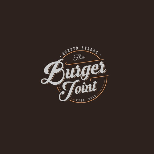 Logo for burger restaurant