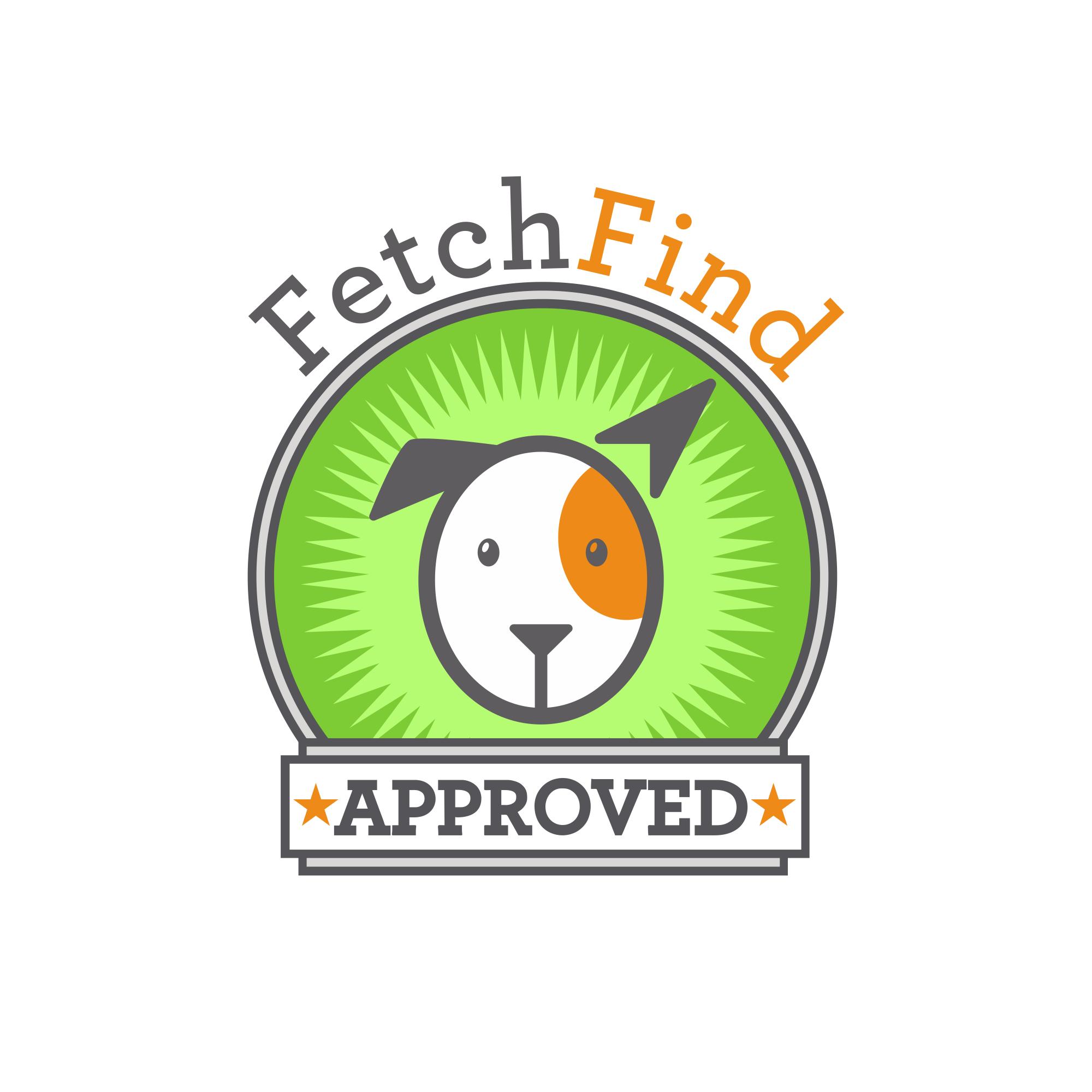 FetchFind Approved Emblem