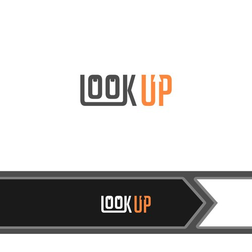 logo concept for Look Up