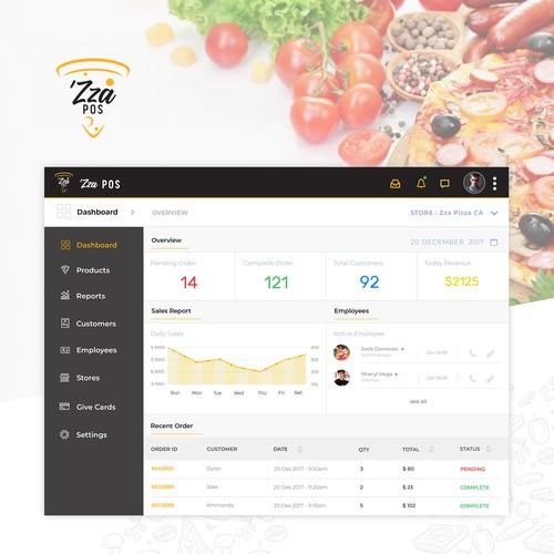 POS Web Management Interface