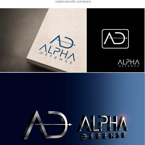 ALPHA DEFENSE - logo design