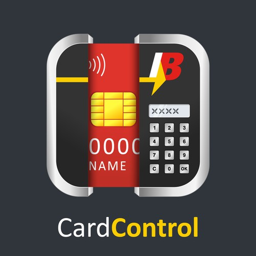 "Bank Mobile App Icon for ""Debit Card Control"" Product"