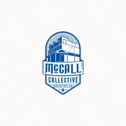 The concept logo for McCall Collective Brewing Co.