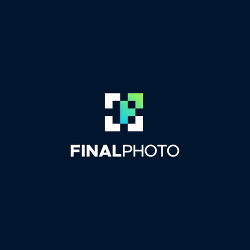 Simple and Bold photography using F P and square camera shot symbol