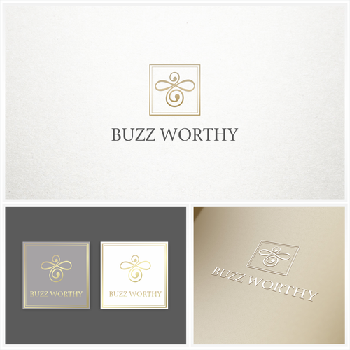 Elegant logo for  boutique event planning business