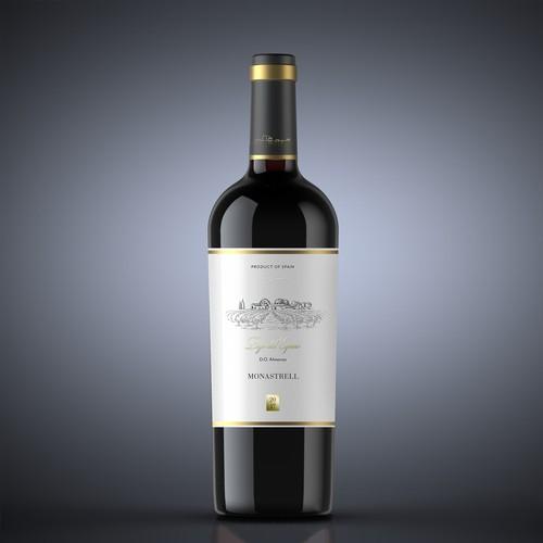 Pago del Espino wine label