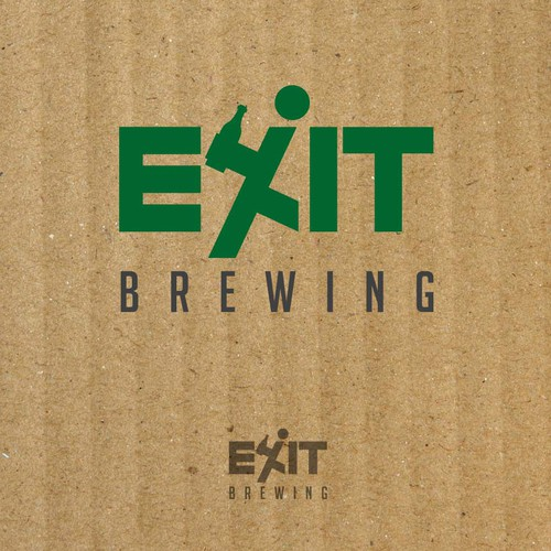Logo for Exit Brewing