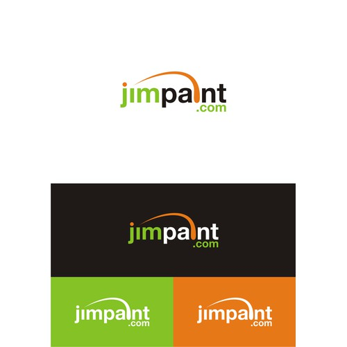 logo for jimpaint.com